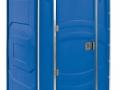 """Toilettenkabine """"PJN3"""" blau"""