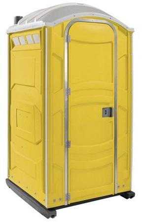 Baustellen-Toilettenkabine-Gelb-mieten-nuernberg
