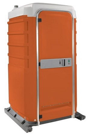 Event-Toilettenkabine-Orange